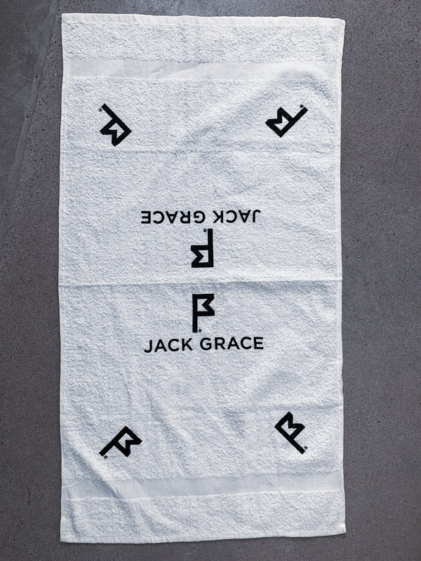 Players Towel Folded View From Jack Grace USA