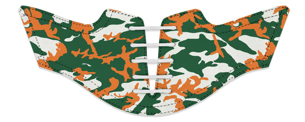 Men's Coral Gables Camo Alma Mater Series Saddles & White Laces