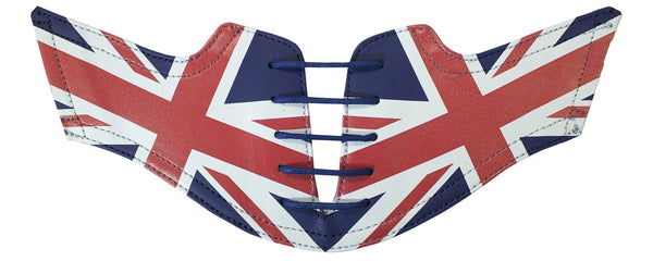 Men's Flag of the United Kingdom Union Jack Saddles & Laces