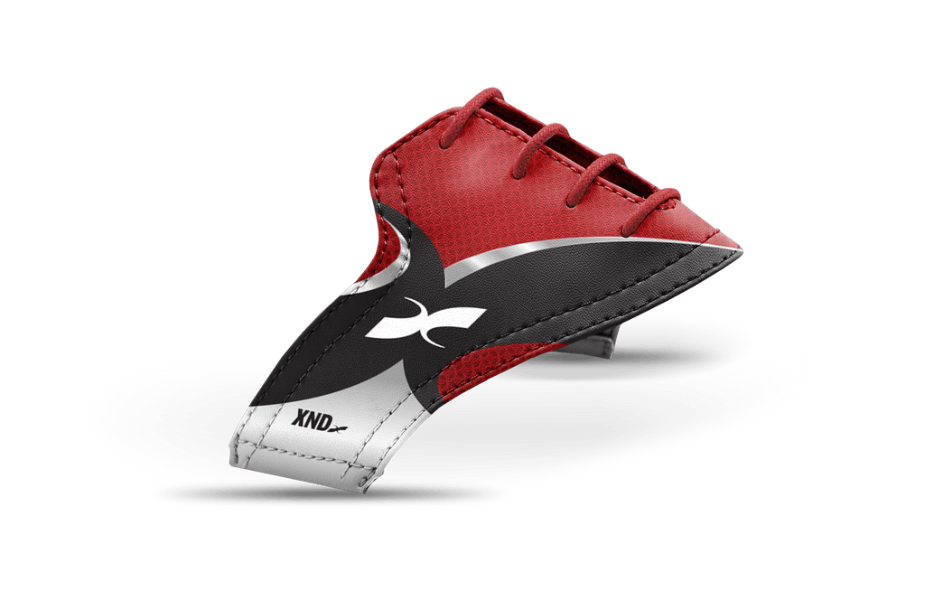 Women's Xendurance Red Design Saddles & Laces