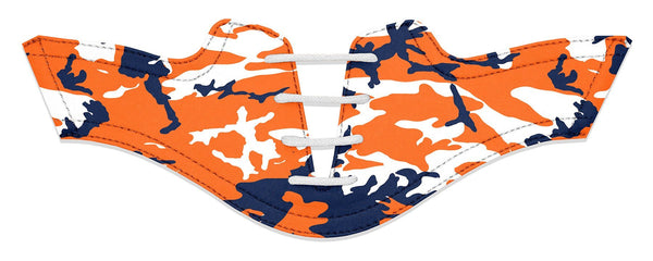 Women's Auburn Alma Mater Camo College Football Saddles Flat Saddle View From Jack Grace USA