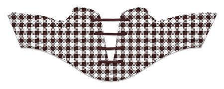 Women's Chocolate Gingham Saddles Flat Saddle View From Jack Grace USA