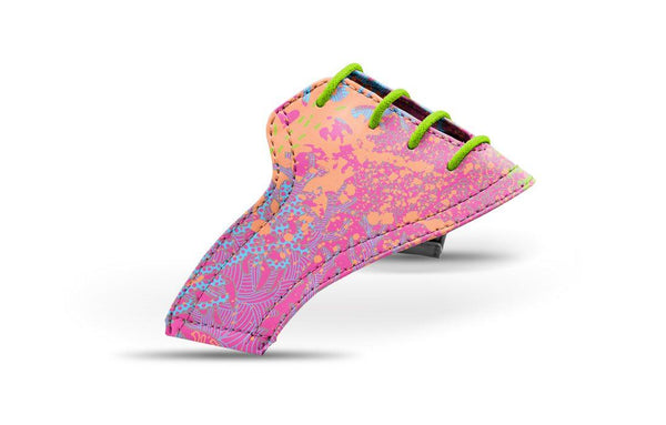 Women's Coral Print Saddle View From Jack Grace USA