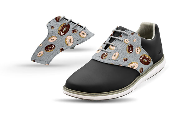 Women's Donuts Saddles On Black Golf Shoe From Jack Grace USA