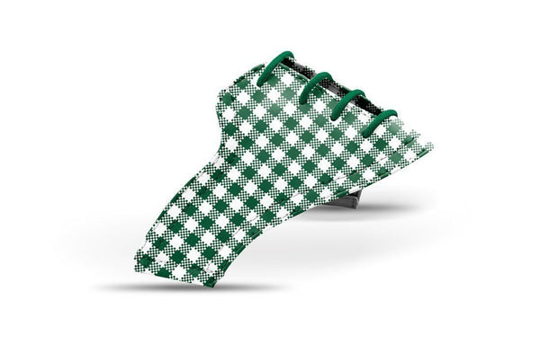 Women's Forest Green Gingham Saddles Lonely Saddle From Jack Grace USA