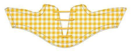 Women's Gold Gingham Saddles Flat Saddle From Jack Grace USA