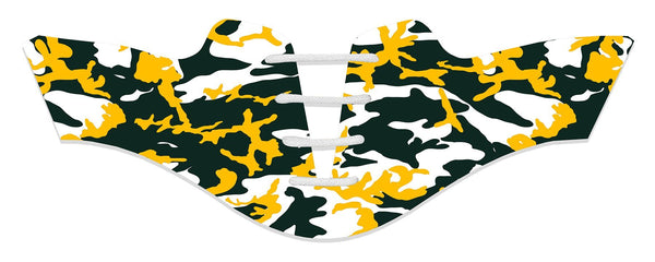 Women's Green Bay Pro Football Camo Saddles Flat Saddle View From Jack Grace USA