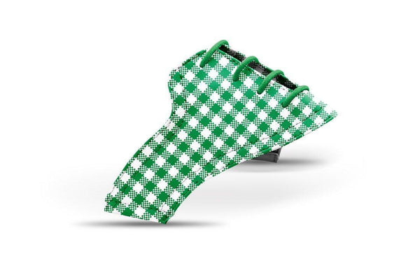 Women's Green Gingham Saddles Lonely Saddle From Jack Grace USA