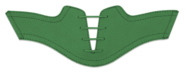 Women's Green Pebble Saddles Flat Saddle View From Jack Grace USA