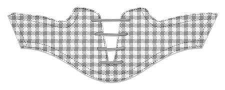 Women's Grey Gingham Saddles Flat Saddle From Jack Grace USA