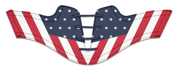 Women's Old Glory Saddles Flat Saddle View From Jack Grace USA