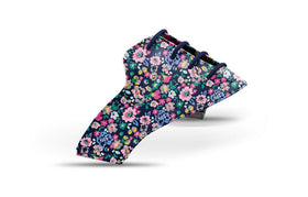 Women's small floral print saddles lonely saddle view from Jack Grace USA