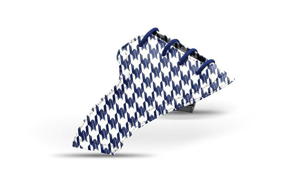 Women's Houndstooth USA Blue Saddles Lonely Saddle View From Jack Grace USA