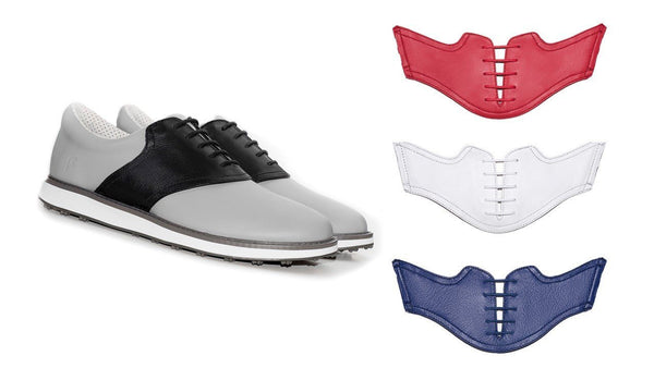 The USA Bundle - Grey Shoe with Red, White and USA Blue Saddles