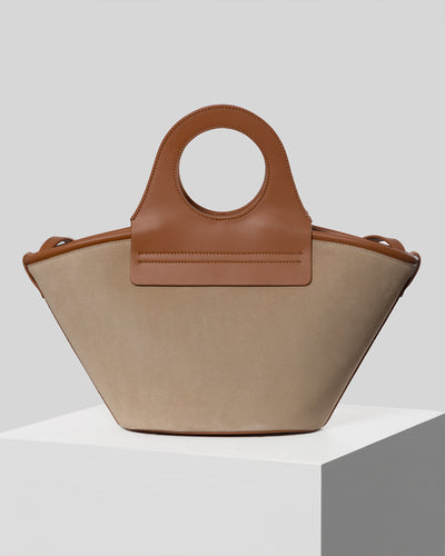 CESTO - Leather tote bag
