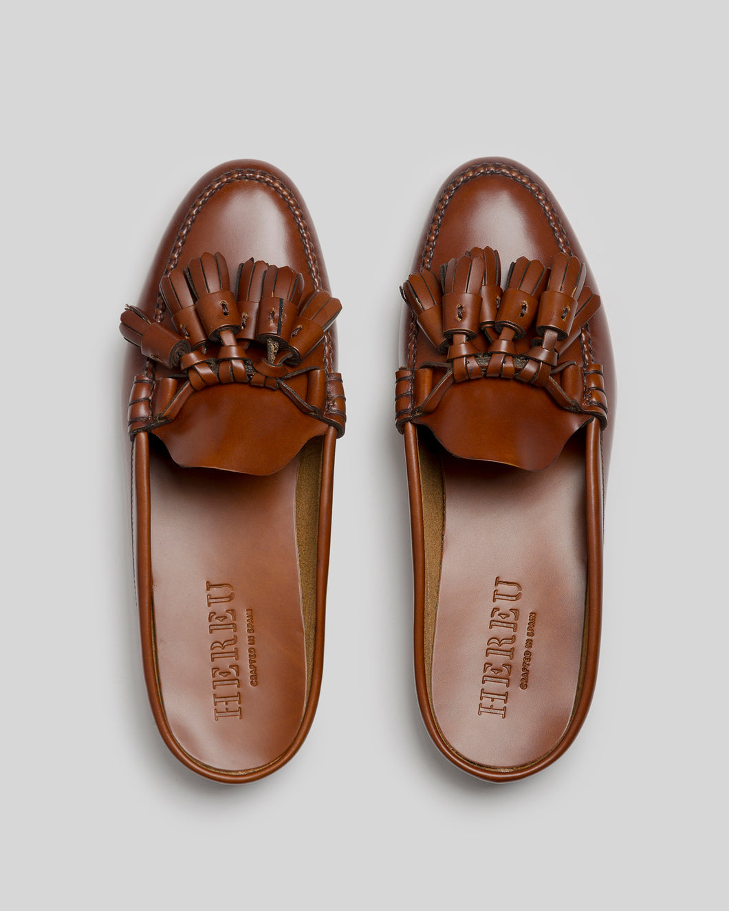 BORLADA - Tasseled Mule Loafer