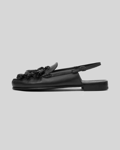 CASCADA - Tasseled Slingback Loafer