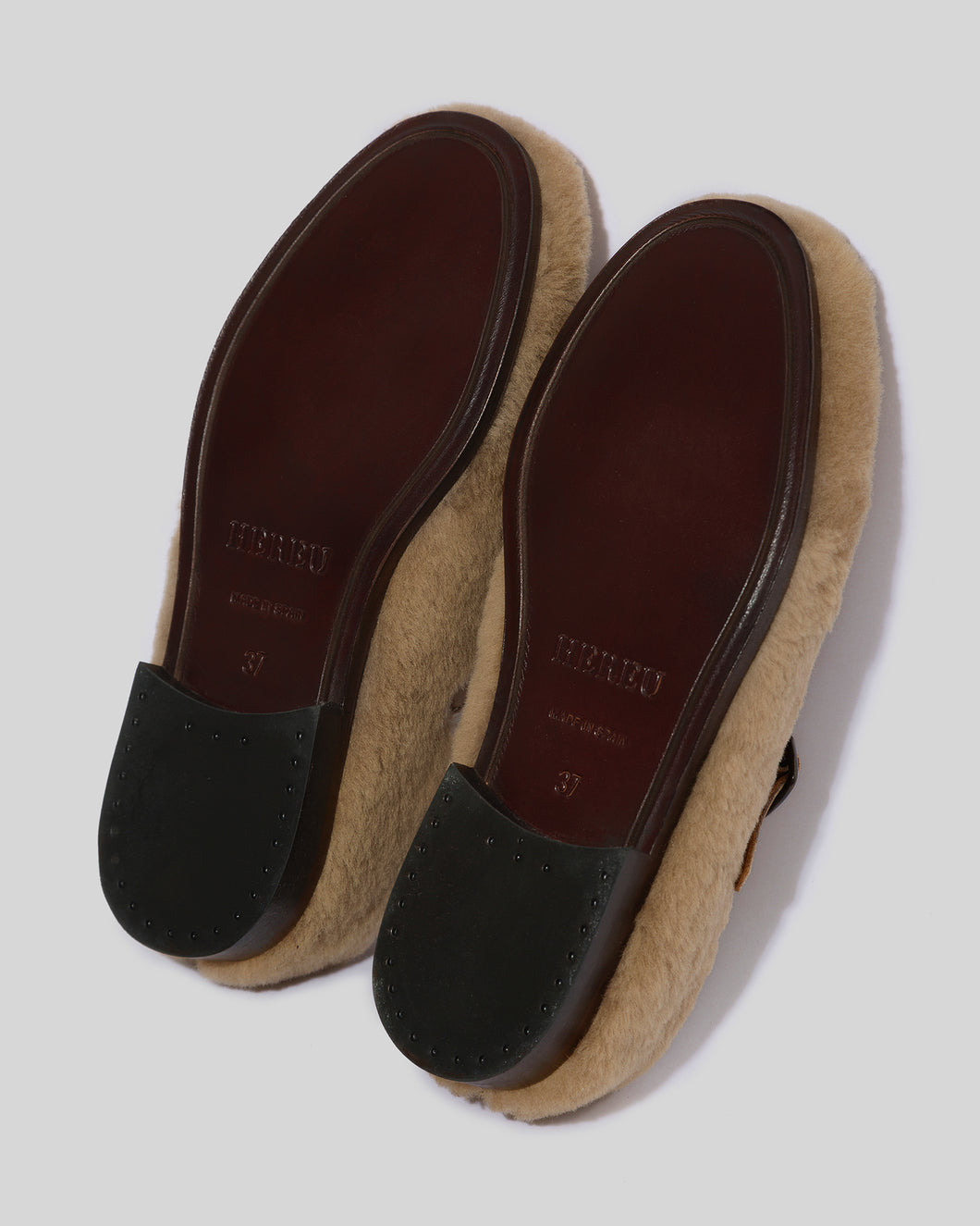 ALBER  - PREORDER - Shearling T-Bar Loafer