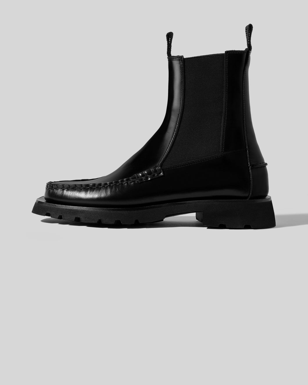ALDA SPORT -Tread Sole Mid-Calf Chelsea Boot