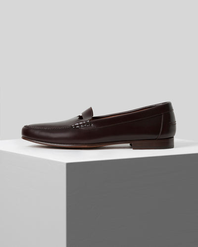 ARBELLO - Men's Cut-out Penny Loafer.