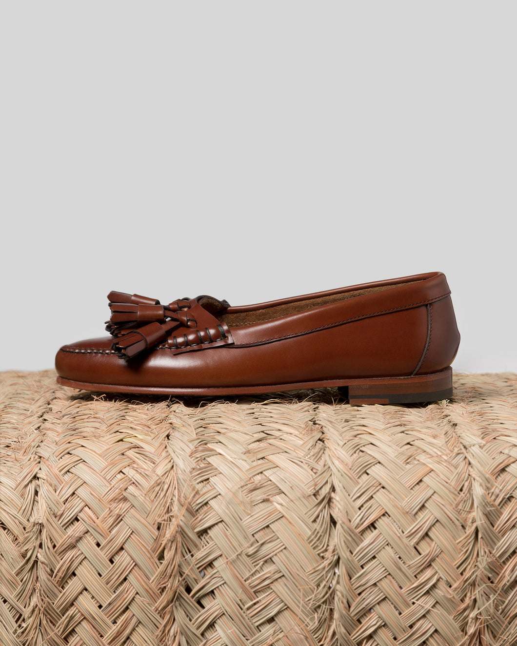 SIERRA - Tasseled pump Moccasin