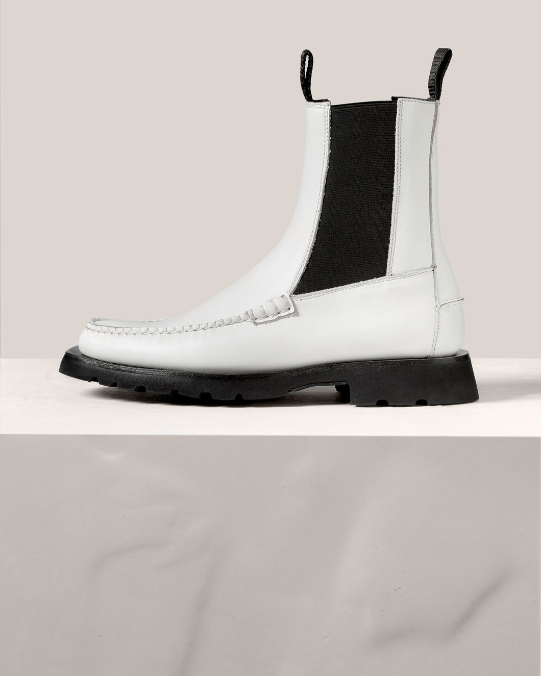 ALDA SPORT - Tread Sole Mid-Calf Chelsea Boot