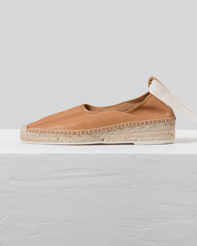 CAPRALA - Elasticated High Cut Espadrille Wedge