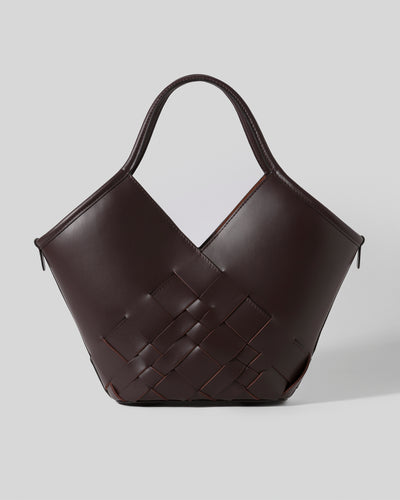 COLOMA S - Interwoven-detail Tote