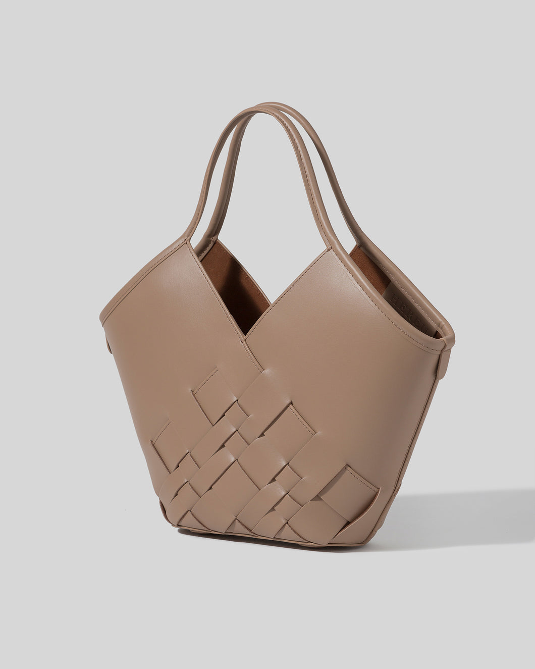 COLOMA S - Interwoven Leather Tote