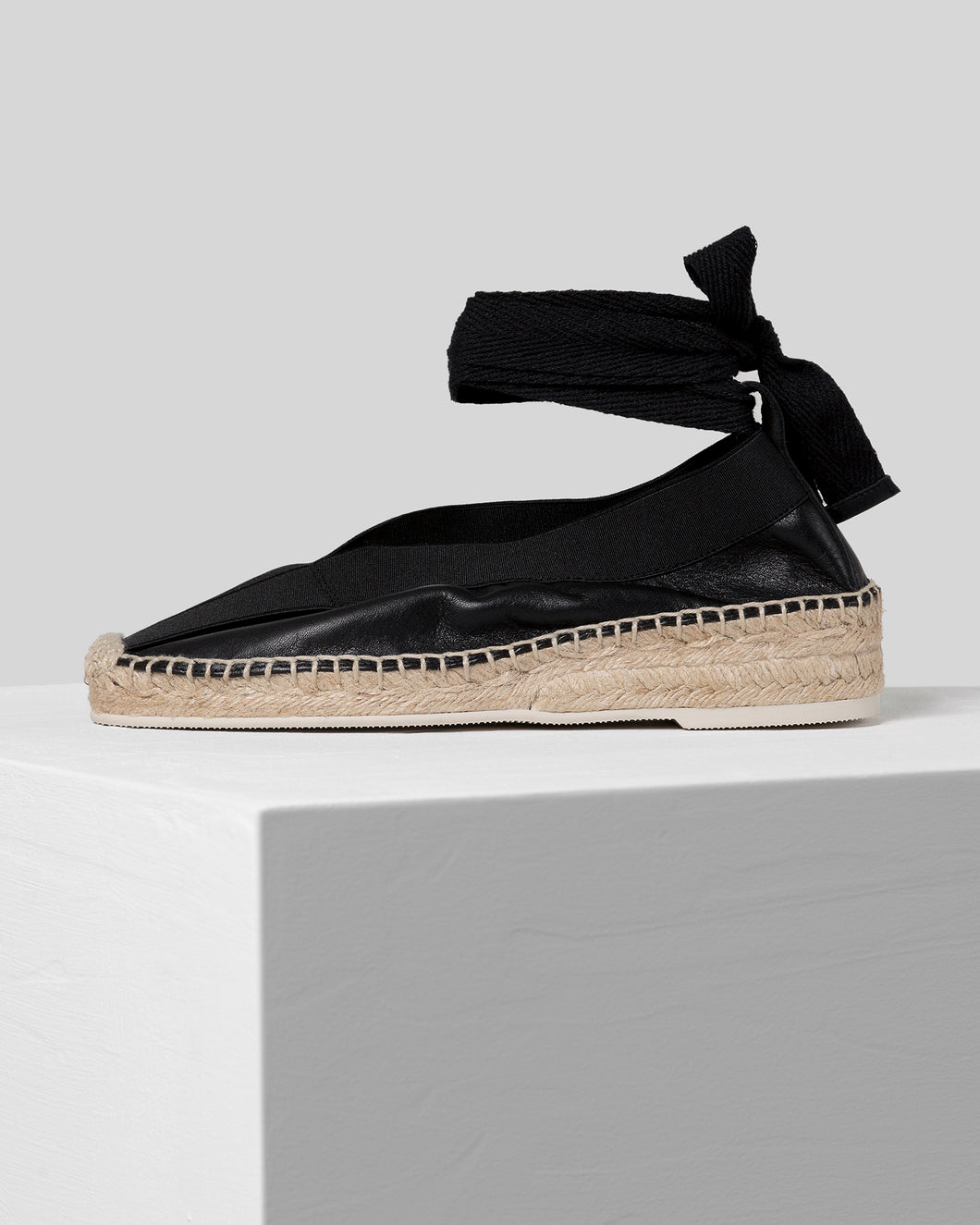 HORTA - Elasticated Espadrille Wedge