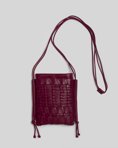 TRENA MINI - Flat square cross-body bag