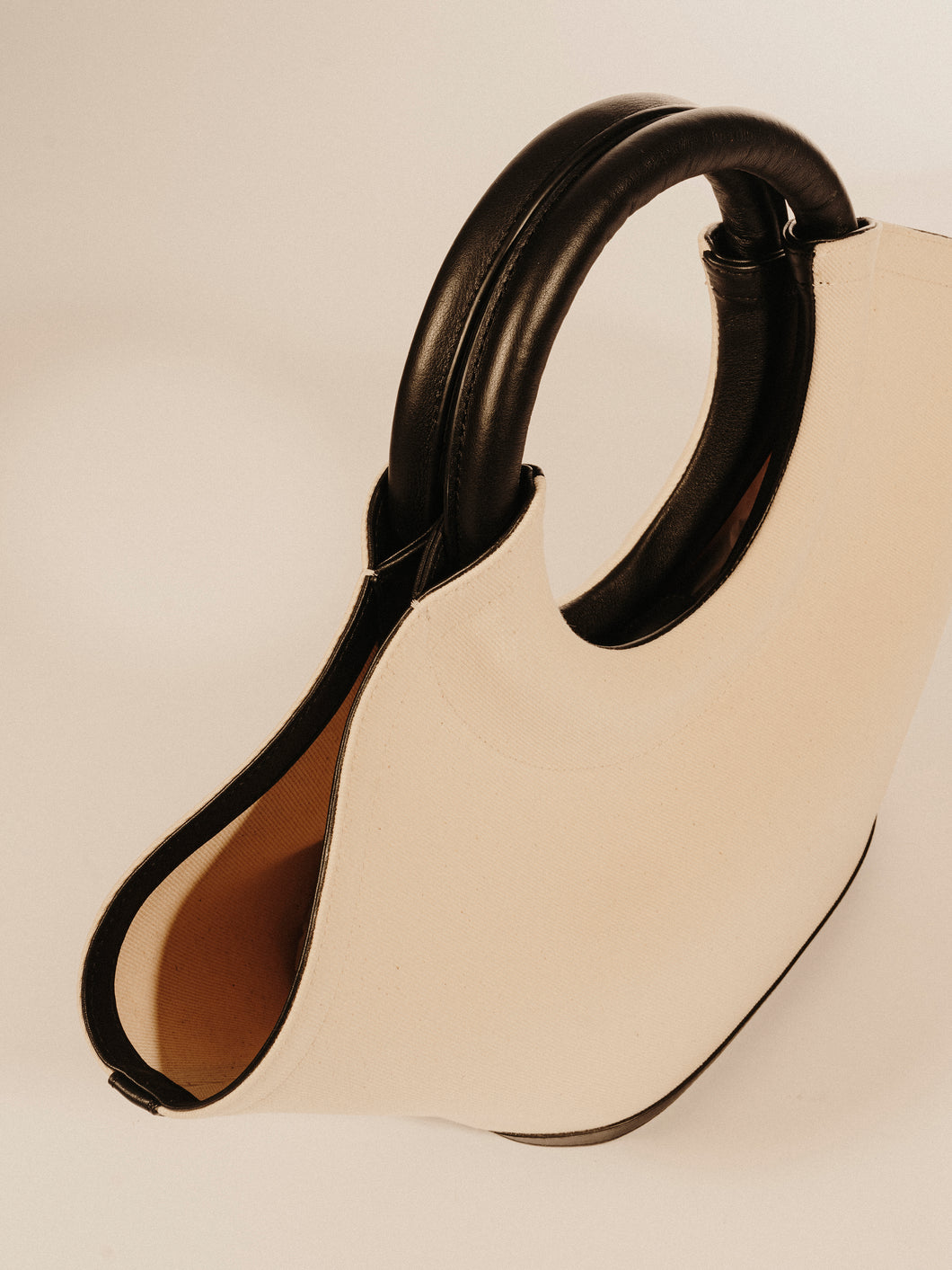 CABASSA CANVAS  - Round-handle Canvas Tote