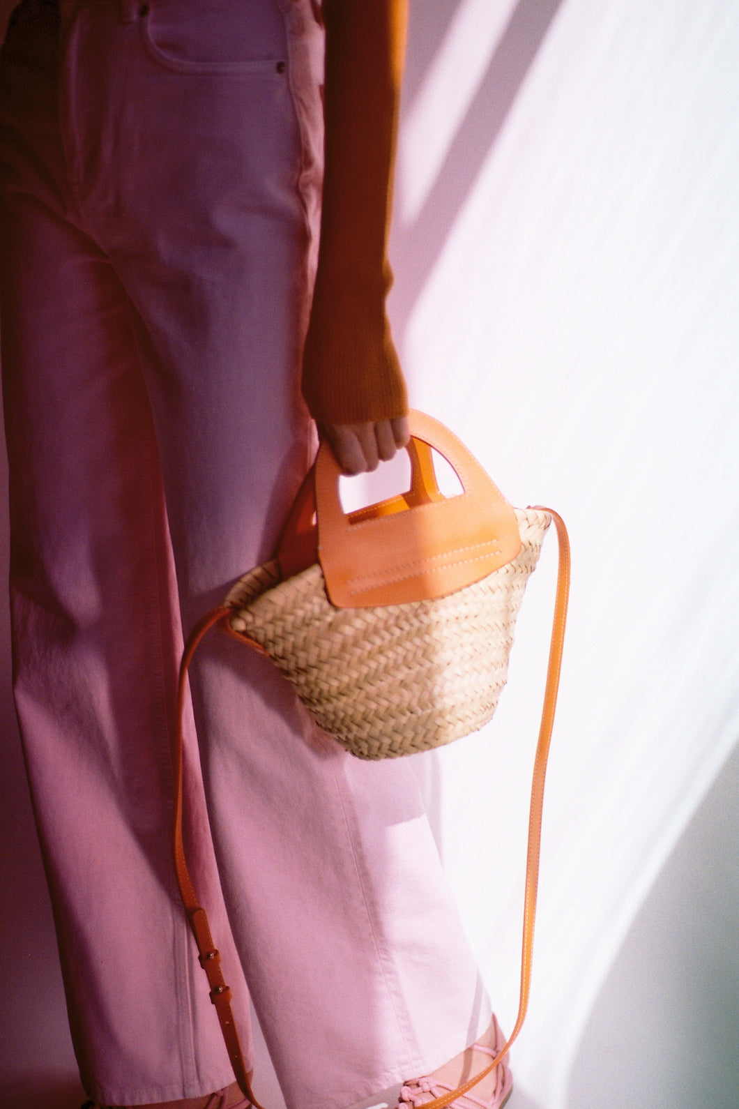 CABAS MINI - Small Straw Tote