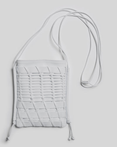 TRENA - Flat square cross-body bag
