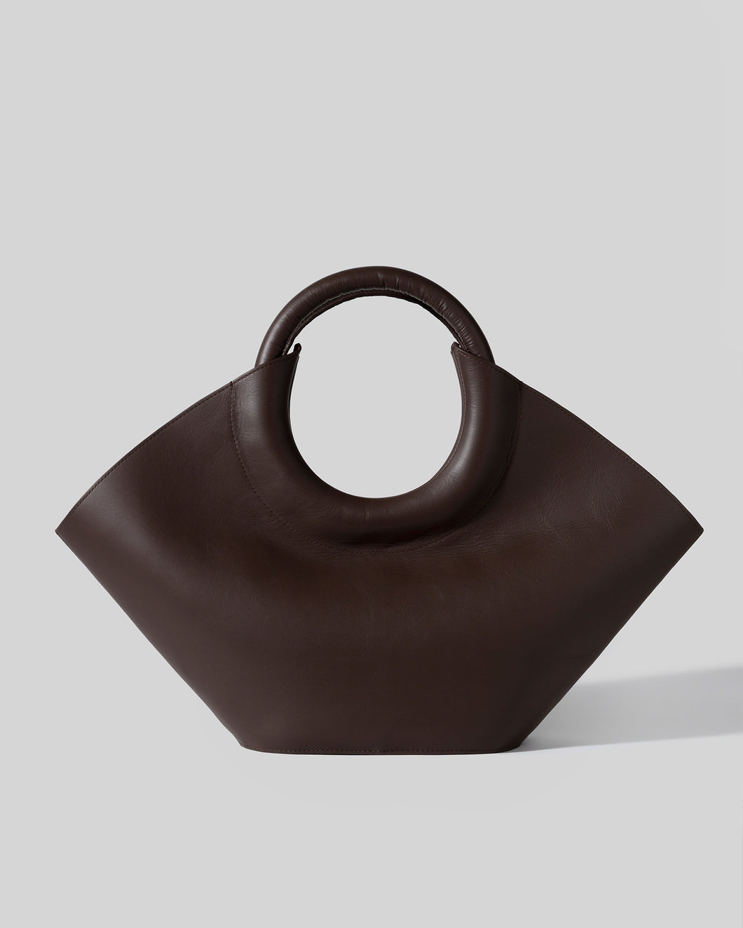 CABASSA - Round-handle Leather Tote