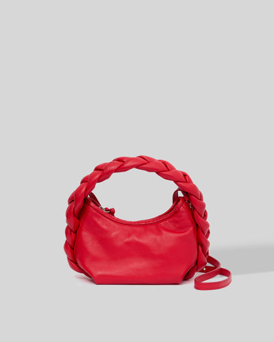 ESPIGA MINI  - Plaided Padded-detail Crossbody
