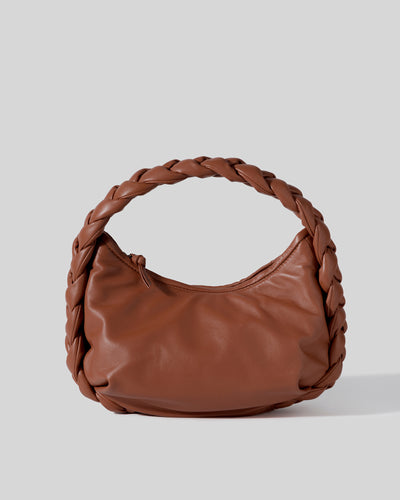 ESPIGA - Plaited Padded-detail Shoulder Bag