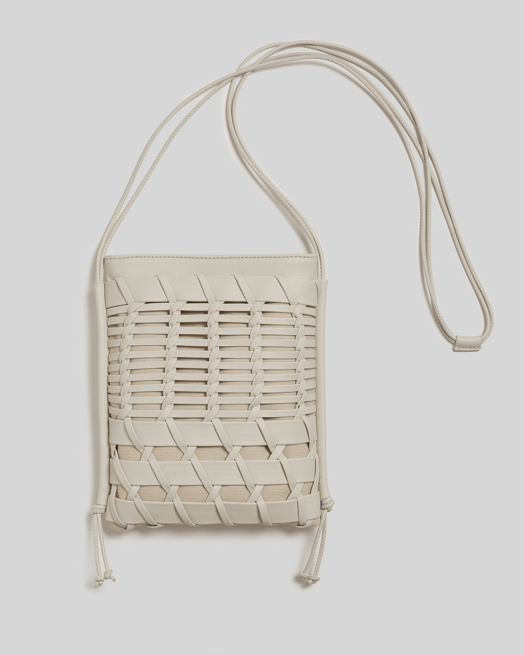 TRENA - Flat Square Crossbody Bag