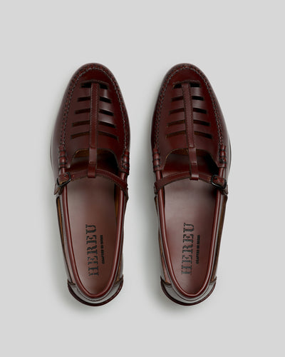 NESTRA - Cut Out T-bar Loafer