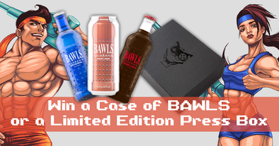 BAWLS & Bullets: Bite the Bullet Drink and Limited Edition Box Giveaway