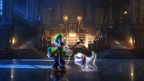 Luigi's Mansion Ghosts