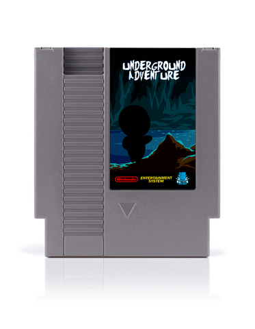 Underground Adventure NES cart