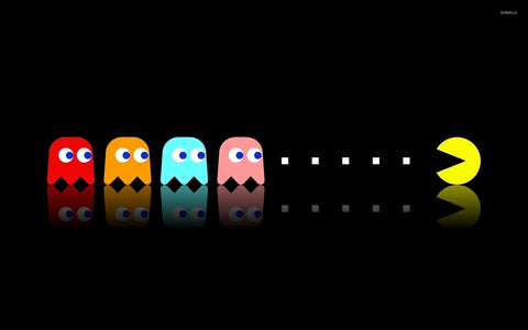Pac Man Ghosts
