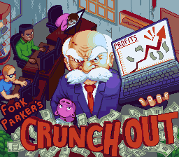Fork Parker's Crunch Out - Mega Cat Studios