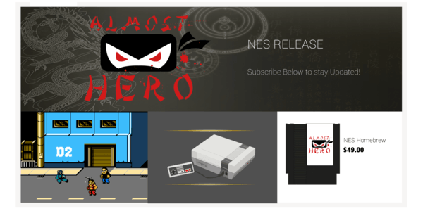 almost hero nintendo nes indie game new release 8 Bit evolution