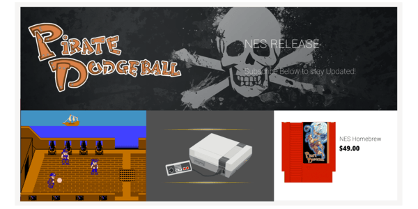 pirate dodgeball new game for retro nintendo nes
