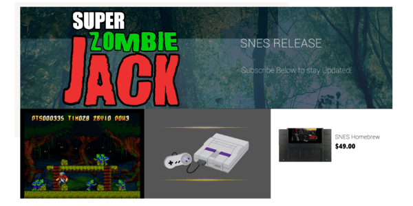 super zombie jack retro indie game 8 bit evolution