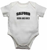 Salford Born and Bred - Baby Vests Bodysuits for Boys, Girls