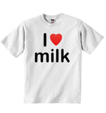 I Love Milk - Baby T-shirt