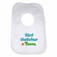 Bird Watcher in Training Boys Girls Baby Bibs